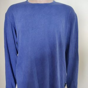 Versace Jeans Couture Men's Long Sleeve Blue Shirt